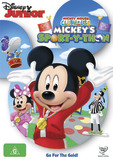 Mickey Mouse Clubhouse - Mickey's Sport-y-thon on DVD