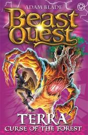 Beast Quest #35: Terra, Curse of the Forest (The World of Chaos) by Adam Blade image