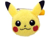 Pokemon: Pikachu Face - Plush Toy Badge