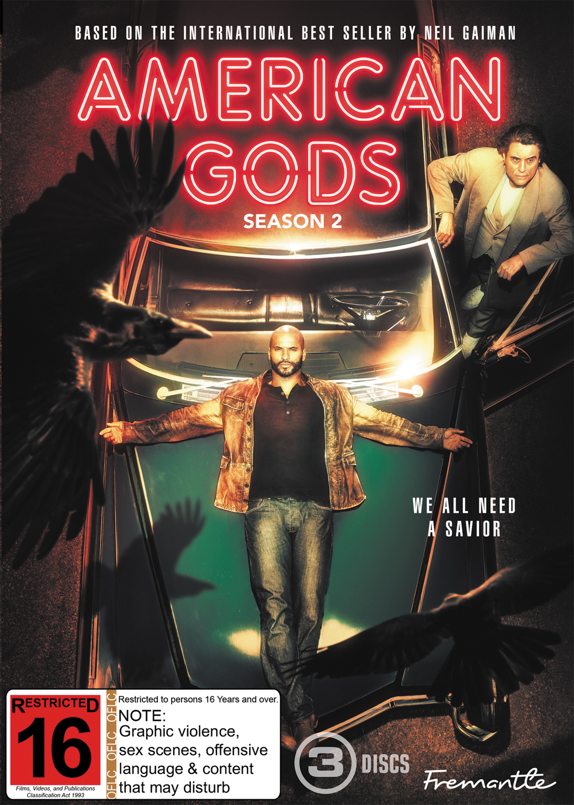 American Gods - The Complete Second Season on DVD image