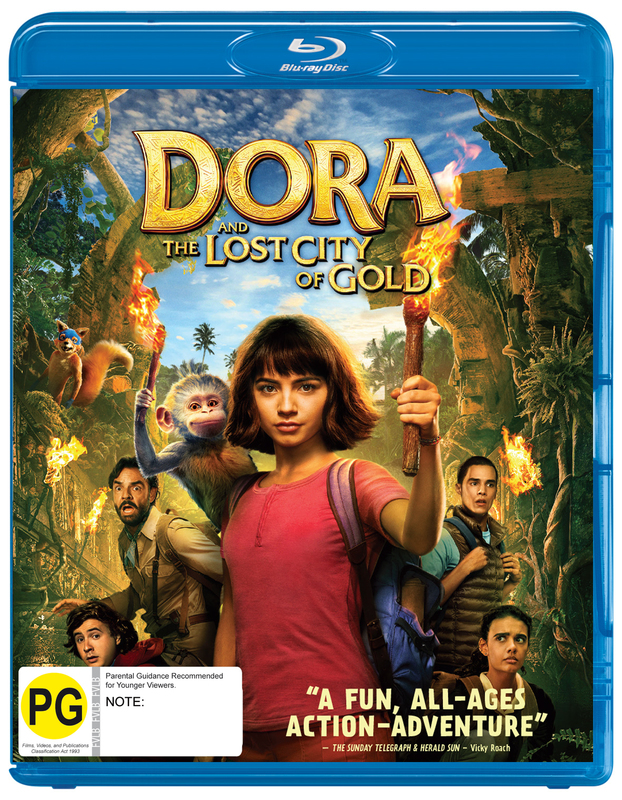 Dora And The Lost City Of Gold on Blu-ray