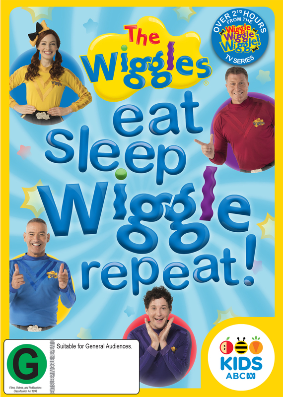 Wiggles: Eat, Sleep, Wiggle, Repeat on DVD