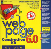 Web Page Construction Kit 6.0