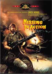 Missing In Action on DVD