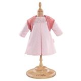 Corolle Mon Classique Collection Pink Dress and Woolen Vest