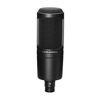 Audio-Technica AT2020 Condenser Cardoid Studio Microphone image