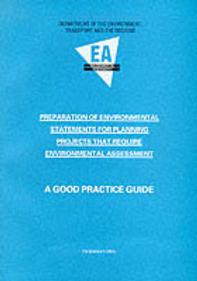 Preparation of Environmental Statements for Planning Projects That Require Environmental Assessment by Great Britain Department of the Environment image