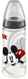 NUK: Mickey - Polypropylene Bottle (300ml) - Black