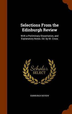 Selections from the Edinburgh Review by Edinburgh Review
