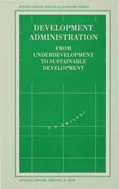 Development Administration by O. Dwivedi