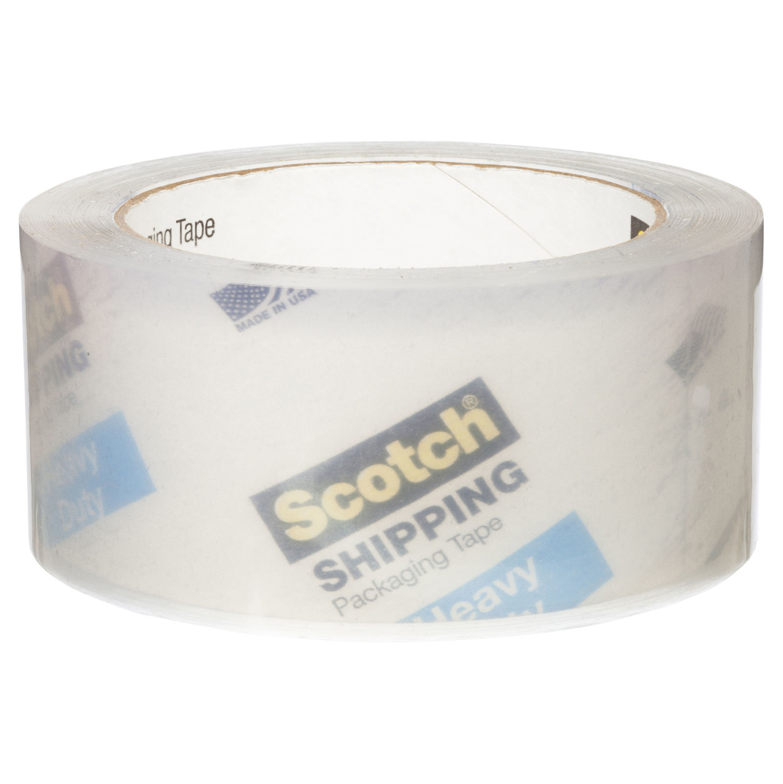Scotch® Heavy Duty Shipping Packaging Tape with Dispenser - Clear (48mm x 50m) image