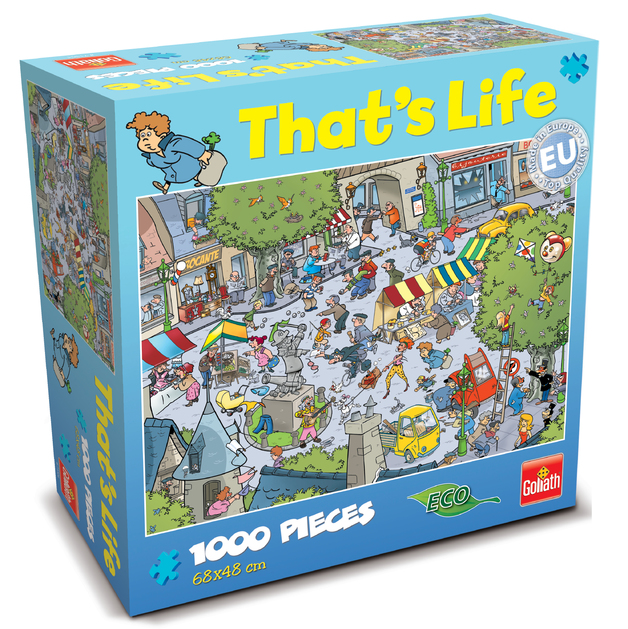 That's Life 1,000 Piece Jigsaw (Village)