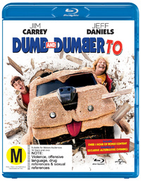 Dumb and Dumber To on Blu-ray, UV