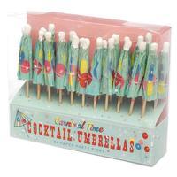 Carnival Cocktail Umbrellas