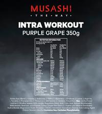 Musashi Intra-Workout - Purple Grape (340g) image