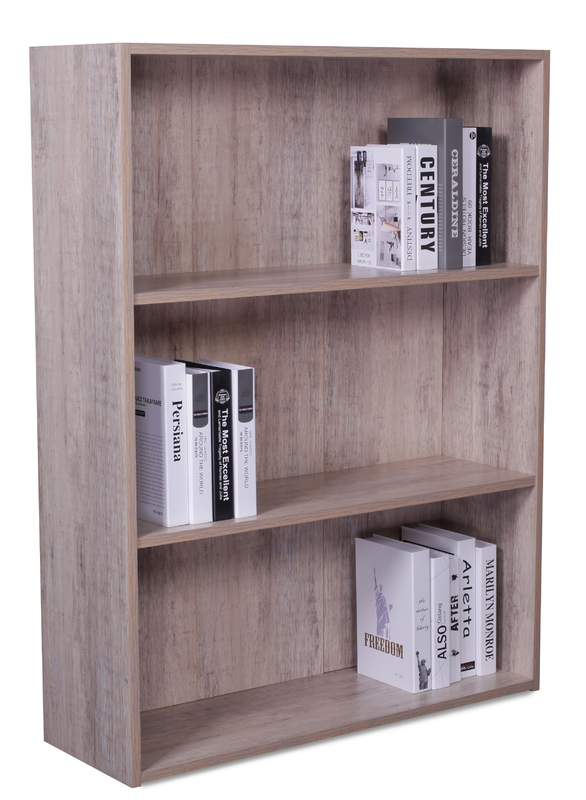 2 Shelf Bookcase - Wood Grain