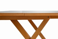 Folding Portable Board Game Table - Birch Wood