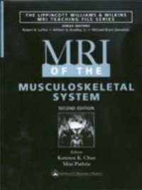 MRI of the Musculoskeletal System by John V. Crues, III image