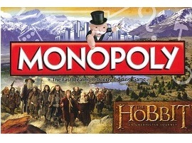 Monopoly Board Game - The Hobbit image