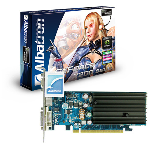 ALBATRON 7200GS 128MB DDR2 TV OUT PCIE