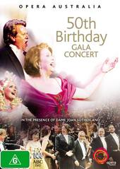 50th Birthday Gala Concert - Opera Australia on DVD