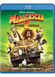 Madagascar: Escape 2 Africa on Blu-ray