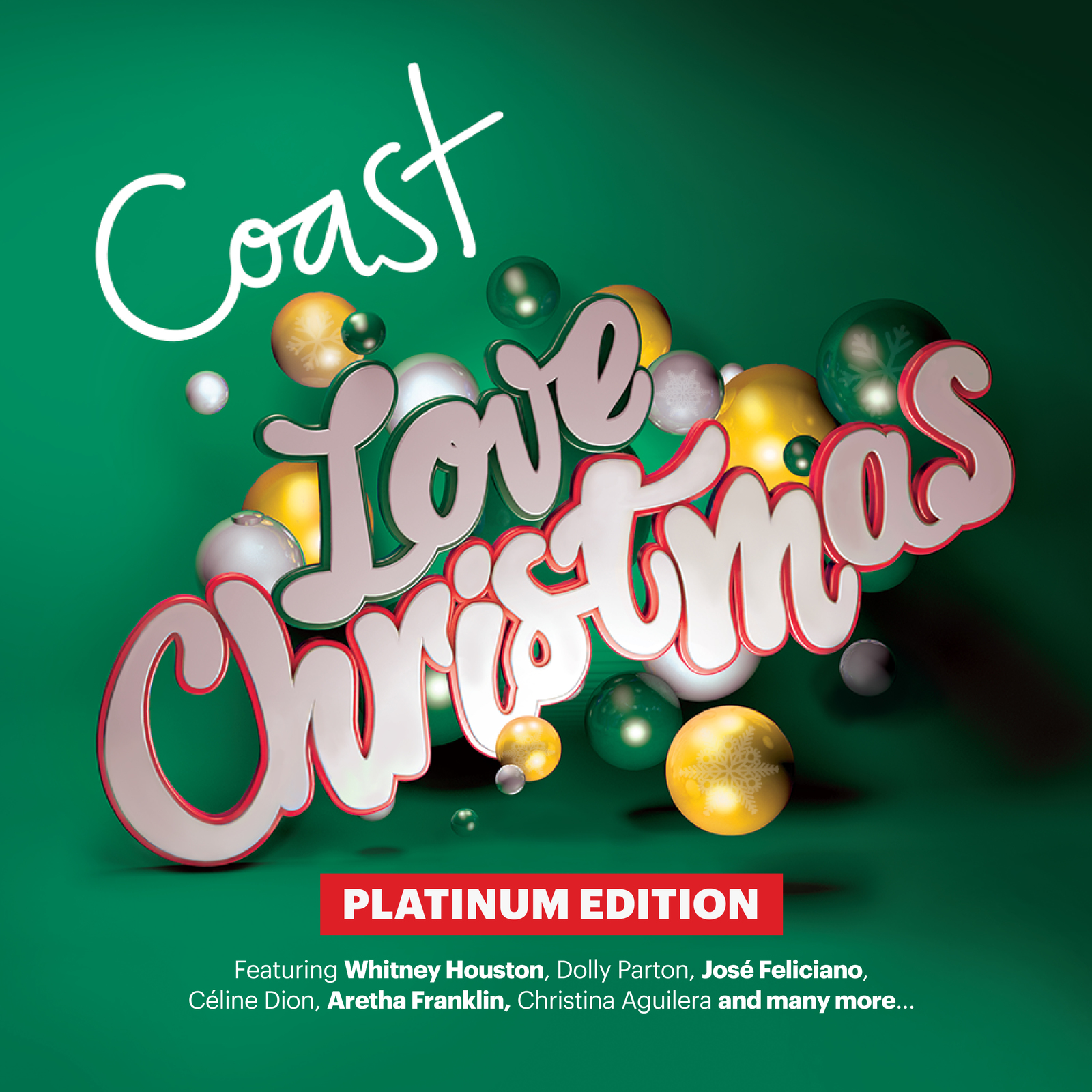 Coast Love Christmas - Platinum Edition by Various Artists image