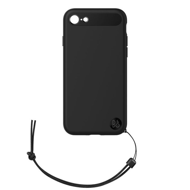 B&O Case with Lanyard for iPhone 8 & iPhone 7 - Black