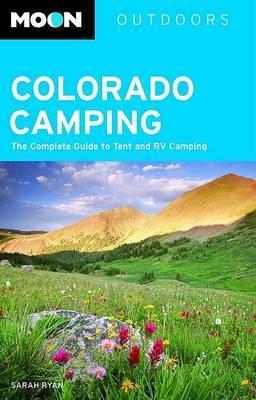 Moon Colorado Camping by Sarah E. Ryan