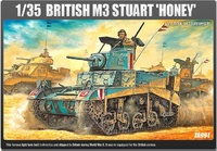 "Academy U.S. M3A1 Stuart ""Honey"" 1/35 Model Kit"