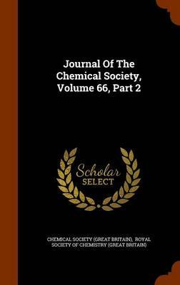 Journal of the Chemical Society, Volume 66, Part 2