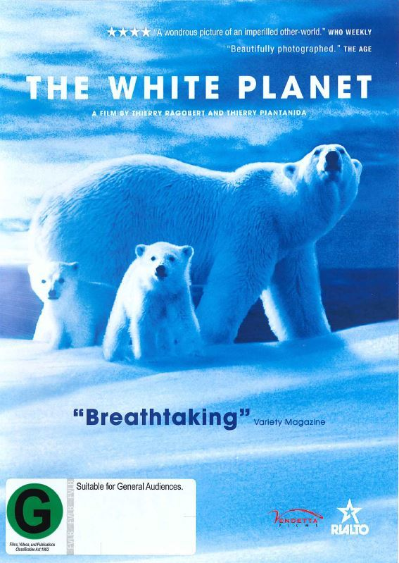 The White Planet on DVD image