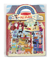 Melissa & Doug: Pet Place Puffy Stickers