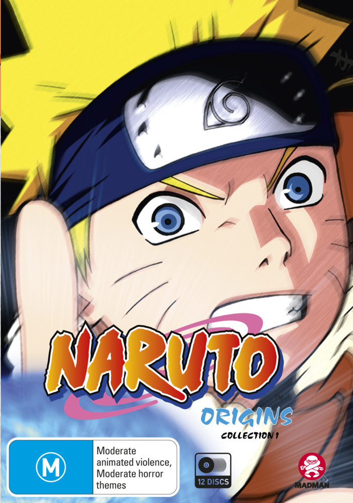 Naruto (Uncut): Origins - Collection 01 (Eps 1-52) on DVD image
