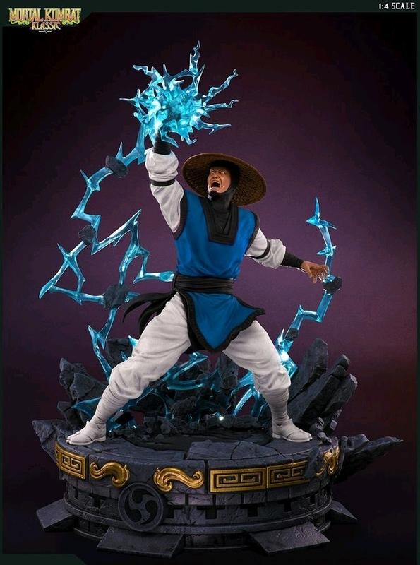 Mortal Kombat - Raiden 1:4 Scale Statue | at Mighty Ape NZ