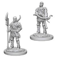 Pathfinder Deep Cuts: Unpainted Miniatures - Town Guards