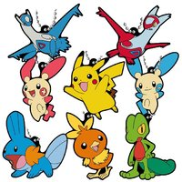 Pokemon: Rubber Mascot Keychain (Vol.7) - (Blind Bag)