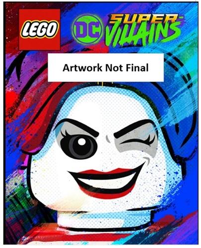 LEGO DC Super Villains poster