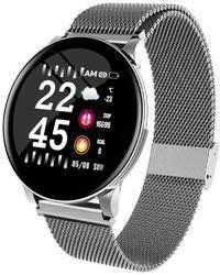Ape Basics: Smart Watch Heart Rate Monitor- Silver