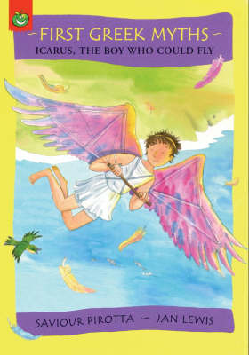 Icarus, the Boy Who Could Fly by Saviour Pirotta image