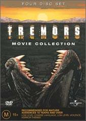 Tremors Collection 1-4 on DVD