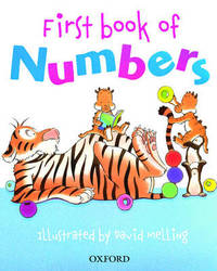 Oxford First Book of Numbers by Peter Patilla image