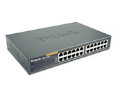 D-Link DES-1024R+ 24 Port Rackmount Switch