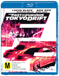Fast and the Furious, The - Tokyo Drift on Blu-ray