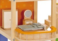 Hape: All Season Wooden Dolls House - Furnished