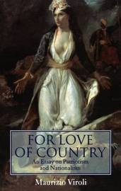 For Love of Country by Maurizio Viroli image