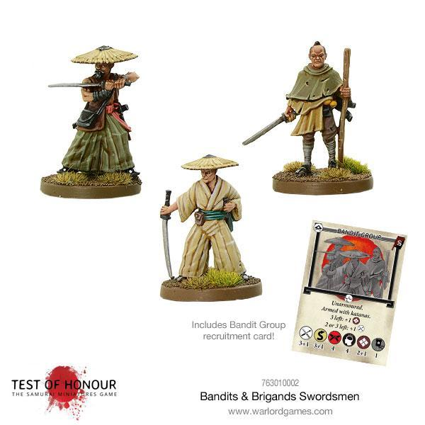 Test of Honour: Bandits and Brigands Swordsmen