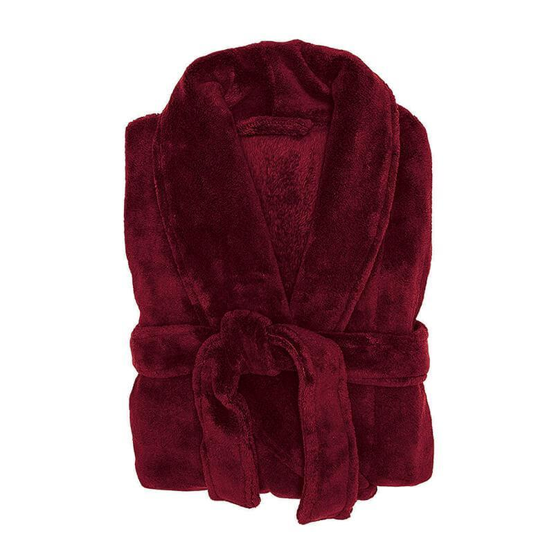 Bambury Merlot Microplush Robe (Large/Extra Large) image