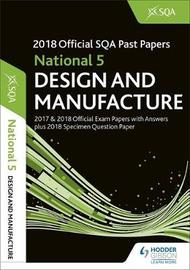 National 5 Design & Manufacture 2018-19 SQA Specimen and Past Papers with Answers by SQA image