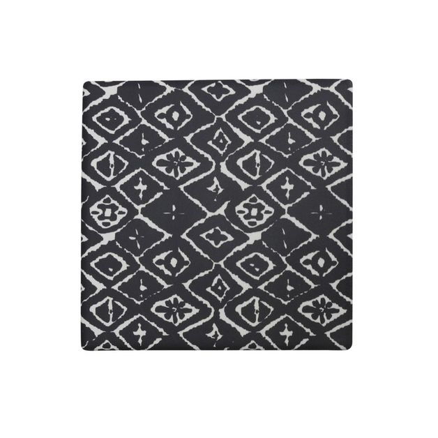 Splosh Markings Ceramic Coaster - Dark Diamond